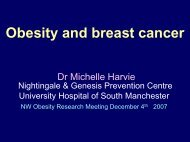 Obesity and breast cancer - Institute of Health Sciences