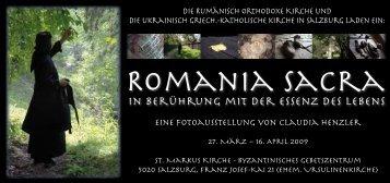 Romania Sacra - Pro Oriente