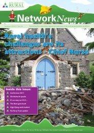 Summer 2010/11 - New Zealand Rural General Practice Network's