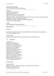 Libretto: Don Giovanni