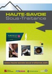 Il ya ceux qui promettent - Haute-Savoie sous-traitance