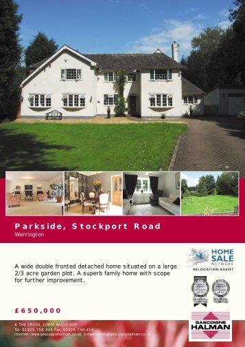 Parkside, Stockport Road