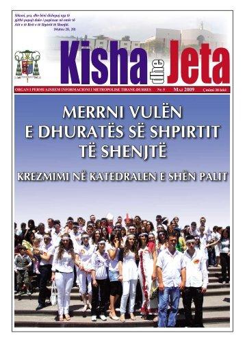 Maj 2009 - kishadhejeta.com