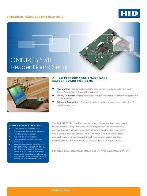 OMNIKEY 3111 DRIVER FOR PC