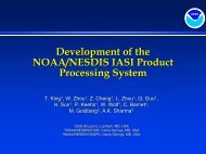 Development of the NOAA/NESDIS IASI Product Processing System