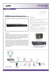 FD - MRV Communications