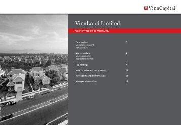 VNL Q1 2012 report - VinaCapital
