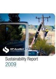 2009 Sustainability Report - SP AusNet