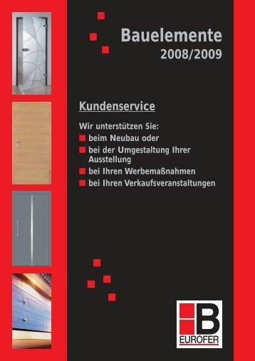 Bauelemente Kundenservice - Hilger-interfer SA