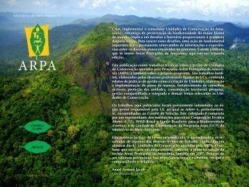 Revista Áreas Protegidas da Amazônia - Ministério do Meio Ambiente