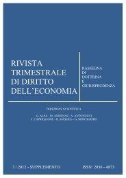 Supplemento al N.3 2012 - Fondazione Capriglione Onlus - Luiss