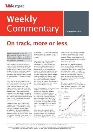 Weekly Comm 6.12.10.indd - New Zealand Mortgages