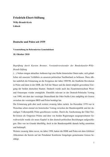 Deutsche und Polen seit 1939 - Willy-Brandt-Kreis