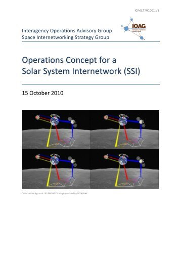 SISG Operations Concept for SSI - InterPlanetary Networking ...
