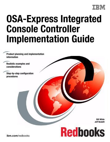 OSA-Express Integrated Console Controller ... - IBM Redbooks