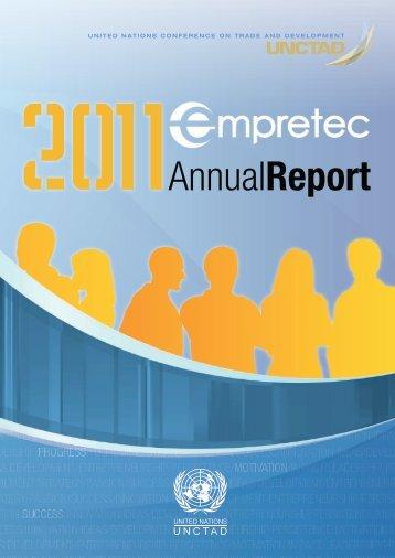 Empretec Annual Report 2011 - Unctad XI