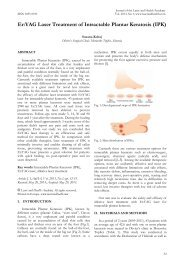 Er:YAG Laser Treatment of Intractable Plantar Keratosis (IPK)