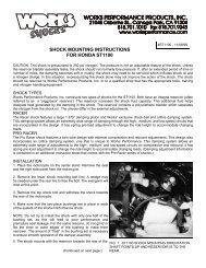 shock mounting instructions for honda st1100 - Works Shocks