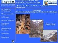 ou en pdf - edytem - Université de Savoie