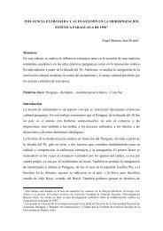 influencia extranjera y auto gestión en la modernización estética ...