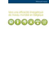 Vers une efficacité énergétique de niveau mondial en Belgique
