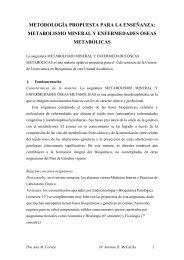 Curso de Metabolismo Mineral y Enfermedades Metabólicas Óseas ...
