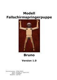 Bauplan Modellfallschirmspringer Bruno - Türk-Web