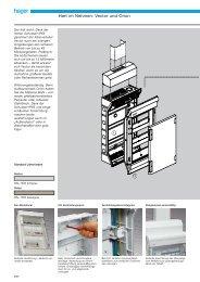 PDF Datei: Broschüre / Hager / Katalog Kleinverteiler IP 65