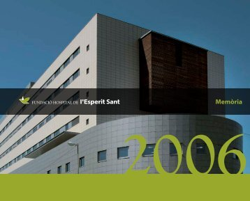 Memòria - Hospital de l'Esperit Sant