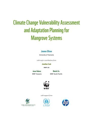Climate Change Vulnerability Assessment and Adaptation Planning ...