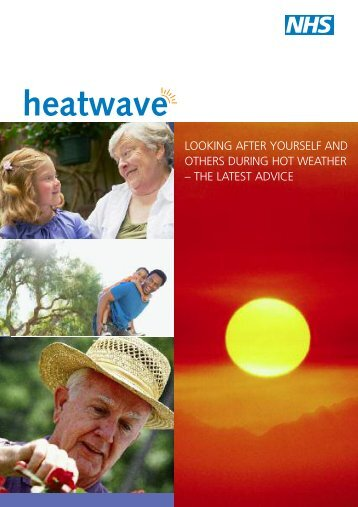 Looking after yourself and others during hot weather - NHS Choices