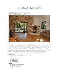 Villa Radosi, near Porec, Istria - Croatia Gems