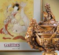 January 31, 2009 - Garth's Auctions, Inc.
