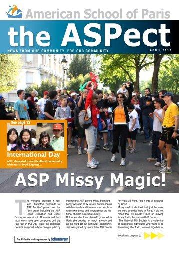 ASP Missy Magic! - American School of Paris