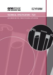 TECHNICAL SPECIFICATION – TS21 - OneSteel Australian Tube Mills