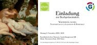 Download Einladung & Programm zur Buchpräsentation