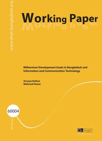 Working Paper_60004.pdf - Bangladesh Online Research Network