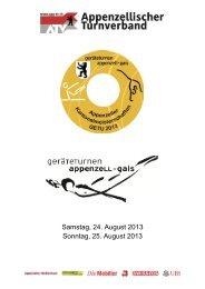 Appenzeller Gerätemeisterschaft, Appenzell - Getu Gossau