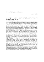 Schlussbericht OAQ PDF - OAQ Organ für Akkreditierung und ...