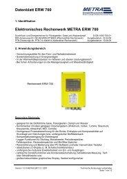Datenblatt ERW 700 Elektronisches Rechenwerk ... - metra-emt.de