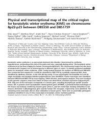 Physical and transcriptional map of the critical region - Genome ...