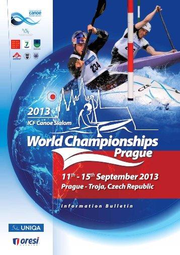 Troja, Czech Republic 11th – 15th September 2013