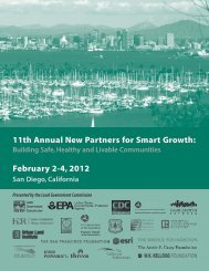 Download Program - New Partners for Smart Growth Conference