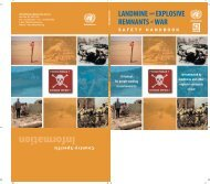 Landmine and ERW Safety Handbook - United Nations Mine Action ...
