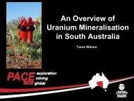 Tania Wilson Uranium March 2011 - PIRSA - SA.Gov.au