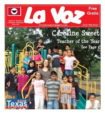La Voz de Austin June, 2011.pmd - La Voz Newspapers