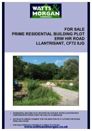 for sale prime residential building plot erw hir ... - Watts and Morgan