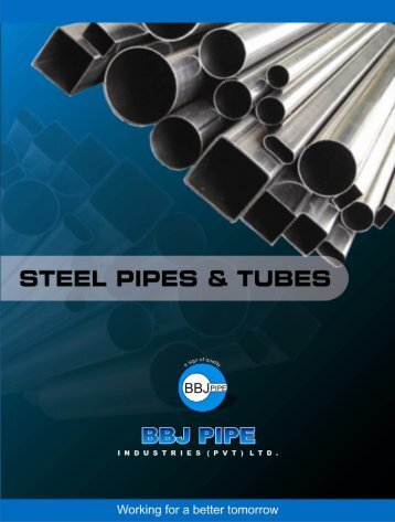 Steel Pipes & Tubes - BBJ PIPE Industries (Pvt)Ltd