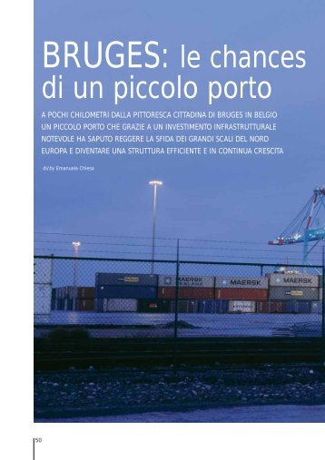 BRUGES: le chances di un piccolo porto - Disano Illuminazione