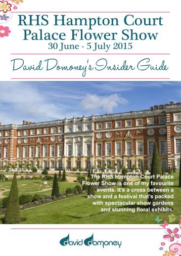 David-Domoney-Hampton-Court-Palace-Flower-Show-Insiders-Guide-2015